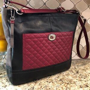 Coach Convertible Handbag/Shoulder Bag